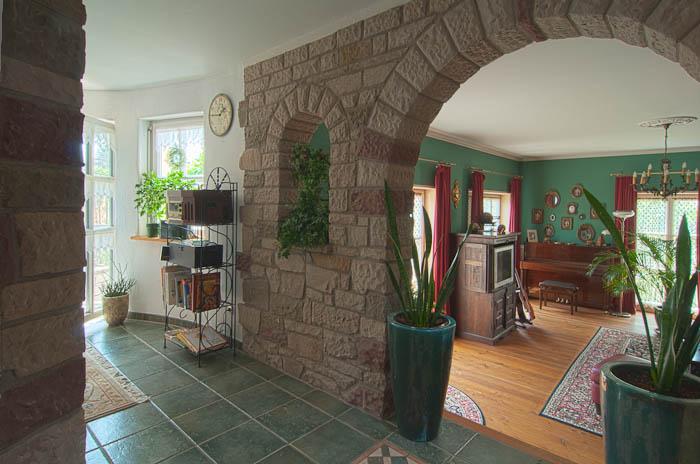Saulen Im Wohnzimmer Mobel Und Heimat Design Inspiration